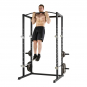 TUNTURI WT60 Cross Fit Rack bicepsový zdvih
