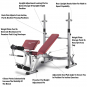 Bh FITNESS Optima Press Bench G330_popis