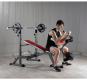 BH Fitness Optima Press Bench G330_cvik biceps