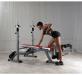 BH Fitness Optima Press Bench G330_cvik žena